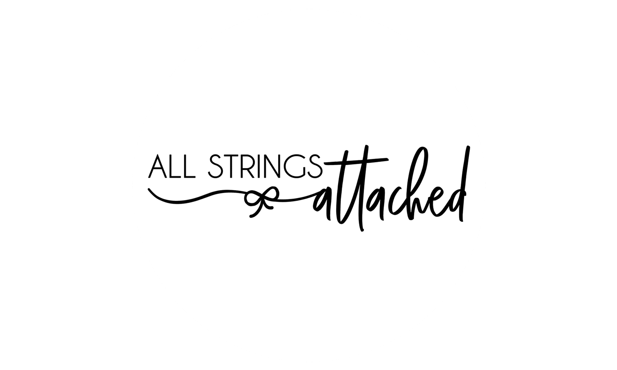 All strings attached logo