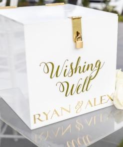 Welcome Signs & Wishing Wells
