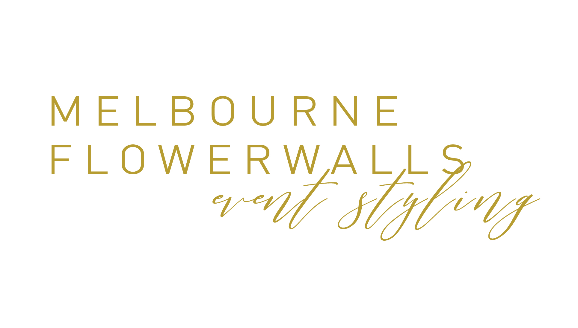 Melbourne flower walls logo